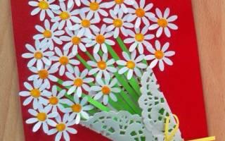 Изготовление открытки ко дню матери. Открытка ко Дню матери своими руками. Мастер-классы красивой поздравительной открытки