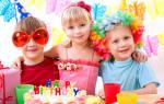 День рождения для вашего ребенка. Сценарий празднования Дня рождения (для девочки)