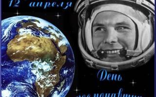 Красивые поздравления с днем космонавтики