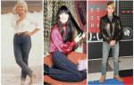 Знаменитости в рваных джинсах. Звезды в джинсах (12 фото)