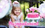 Поздравить доченьку с 7 летием. Поздравления с днем рождения дочери