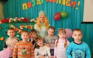 Сценарий проведения дня рождения детей в детском саду